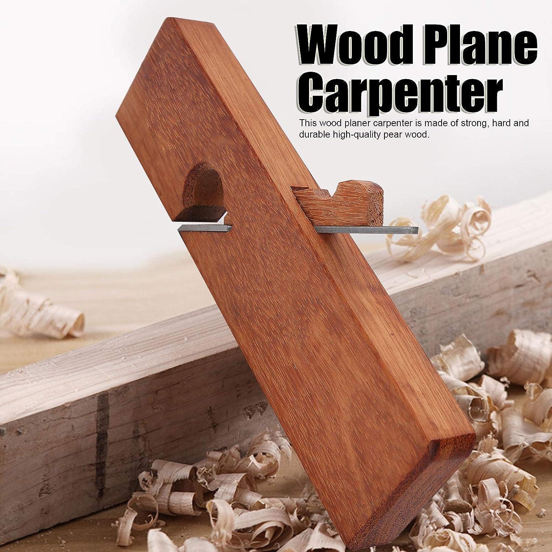 Fafeicy Carpintero plano de madera para cortar y pulir superficies de madera herramienta de bricolaje para carpinter/ía manual cepillo de recorte