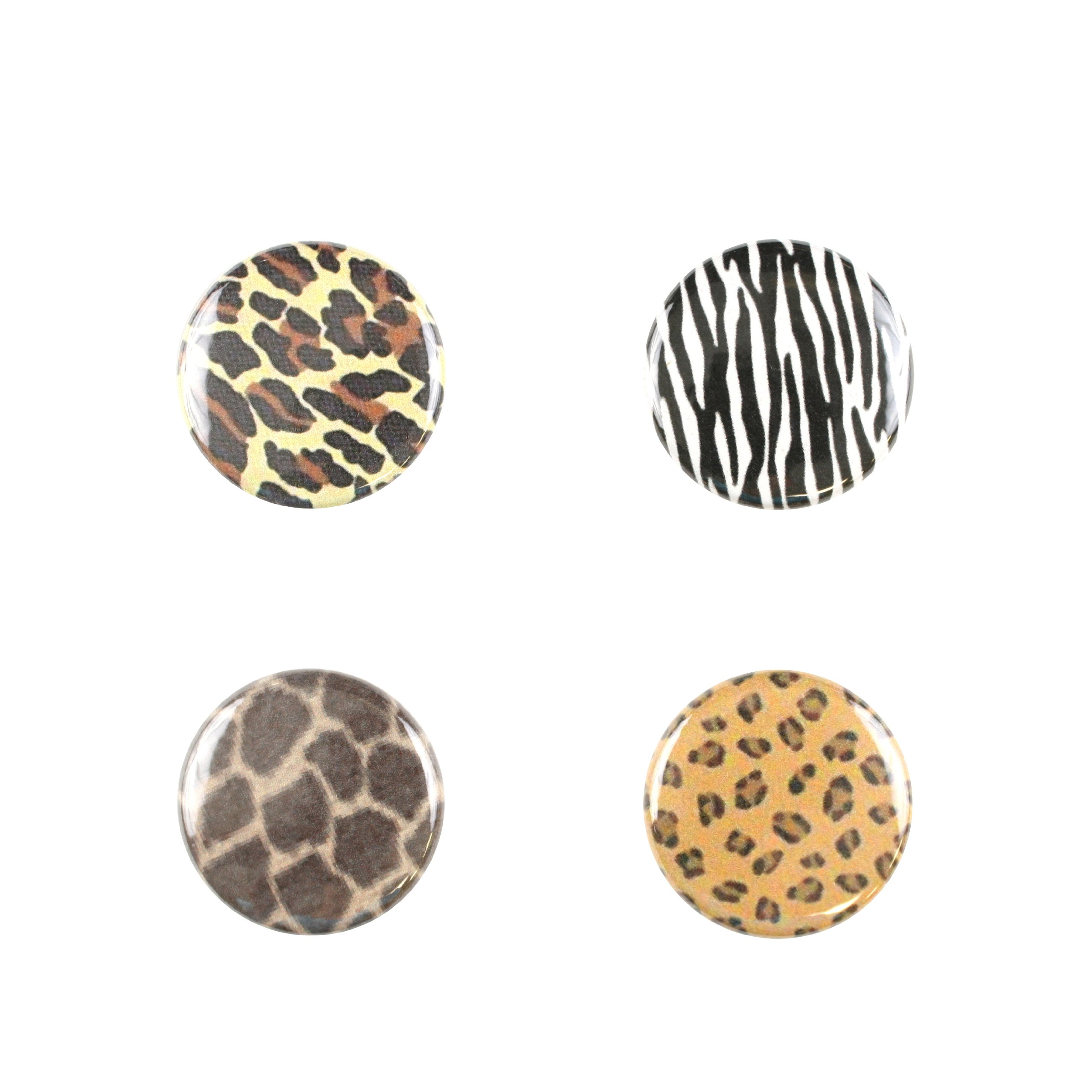 Il Bere Wine and Drink Charms Fun Collection, Kenya Animal Print