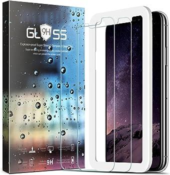 Zeesa iPhone X Screen Protector 2-Pack