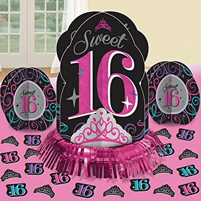 Table Decorating Kit | Sweet Sixteen Collection | Birthday: Kitchen & Dining