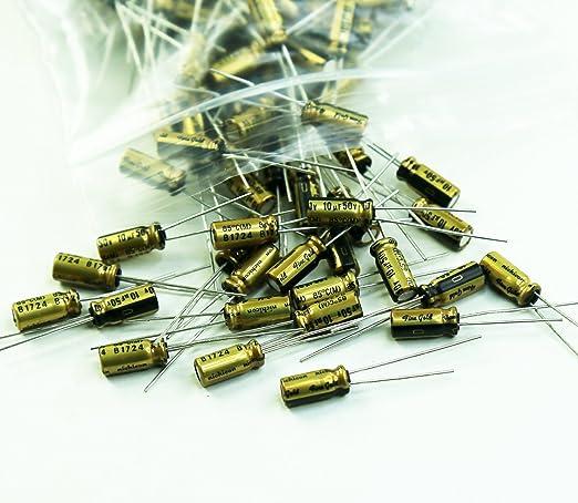 10 pcs Nichicon Muse FG  Fine Gold  UFG1H4R7MDM  4,7uF 50V 5x11mm RM2  #BP