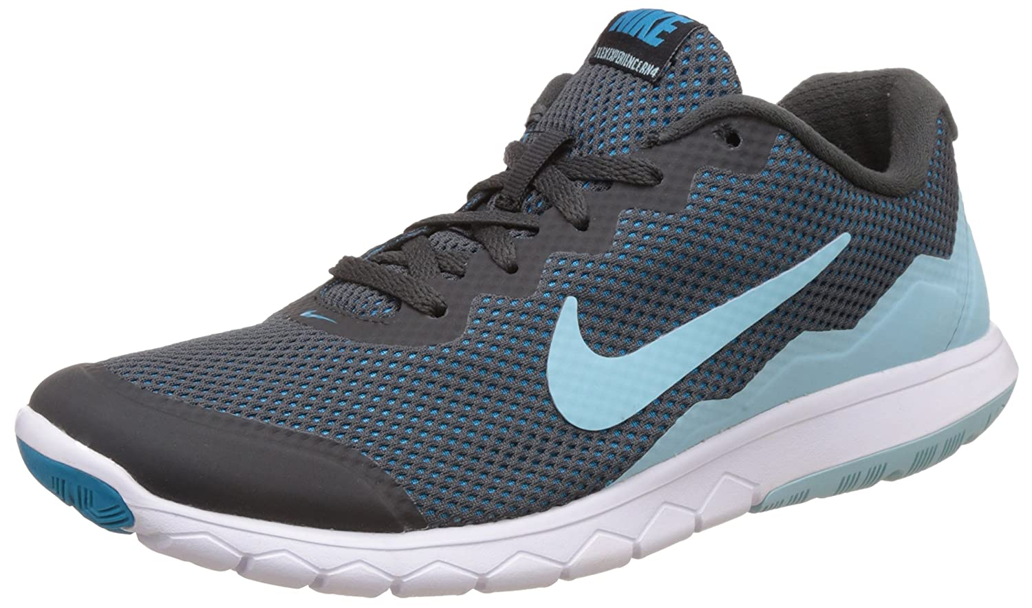 NIKE Men's Flex 2014 RN Running Shoe B002B4HVZU 6.5 B(M) US|Anthracite/Blue Lagoon