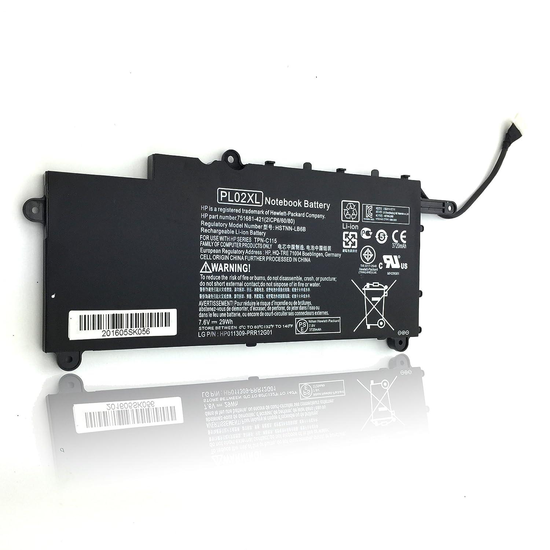 Amazon.com: SLE-TECH Laptop Battery for Pl02xl - HP Battery - Hp Pavilion 11-n X360 Series 11-n010dx 751875-001 Hstnn-lb6b Tpn-c115 HSTNN-DB6B 751681-231 ...