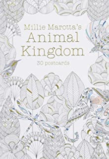 Millie Marottas Animal Kingdom Postcard Book 30 Postcards