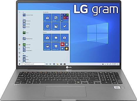 "Amazon.com: LG Gram Laptop - 17"" IPS WQXGA (2560 x 1600) Intel 10th Gen  Core i7 1065G7 CPU, 16GB RAM, 1TB M.2 NVMe SSD (512GB x2), 17 Hour Battery,  Thunderbolt 3 - 17Z90N (2020): Computers & Accessories"