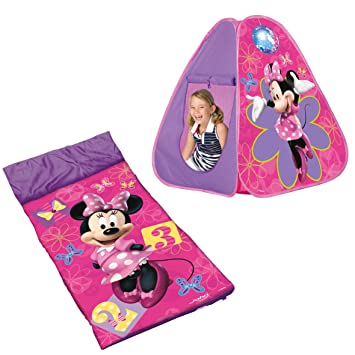 Disney Minnie Mouse Bow-tique Pop Up Tent with Sleeping Bag  sc 1 st  Amazon UK & Disney Minnie Mouse Bow-tique Pop Up Tent with Sleeping Bag ...