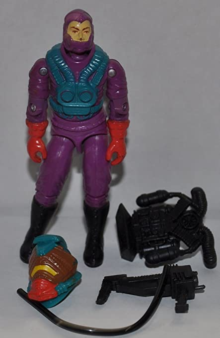 GI Joe Weapon Toxo Viper Backpack 1992 Original Figure Accessory