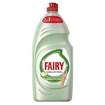 Fairy Limpieza y Cuidado Líquido Lavavajillas de Aloe Vera y ...