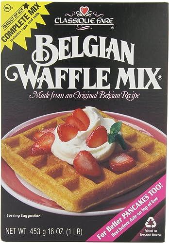 Tajemnicza mieszanka belgijskich wafli