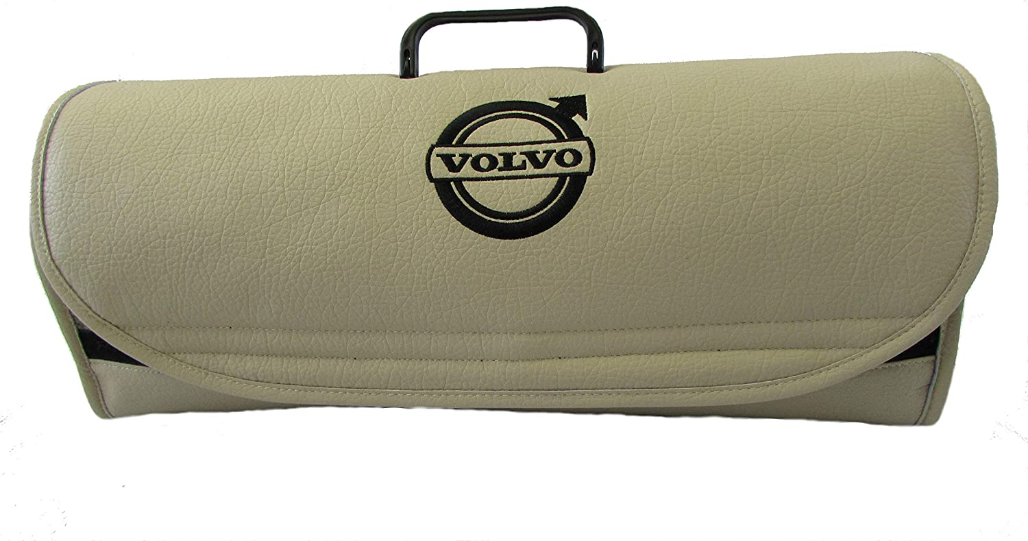 Truck BEIGE Leather Boot Tidy Organiser Fits all Models NEW Volvo Car