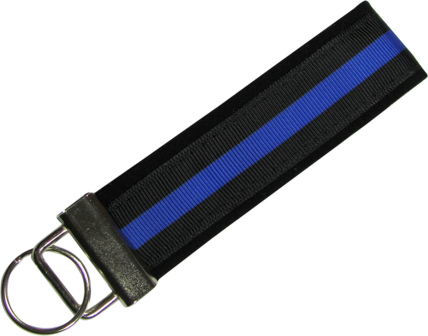 Law Enforcement 2 LANYARDS /& Detachable Key Chain Thin Blue Line Police Officer