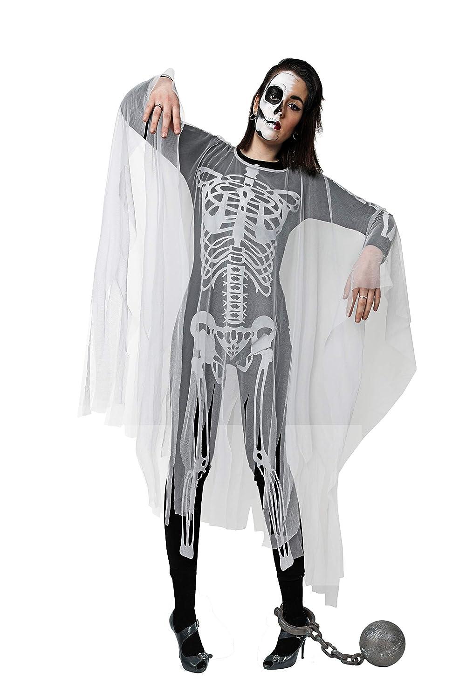 Costumizate! Disfraz de Esqueleto para Hombre Adulto Talla Unica ...