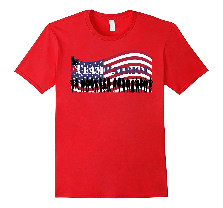 #TeamPatriot - Guardians of Democracy Patriotic T-shirt-RT