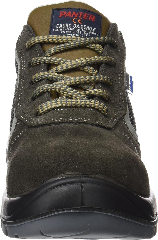Panter M127658 - Zapato seguridad cauro oxigeno piel natural talla ...