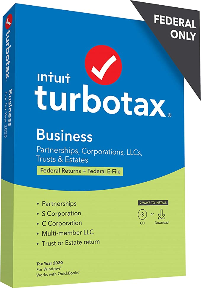 TurboTax Business 2020 Discount Coupon Code