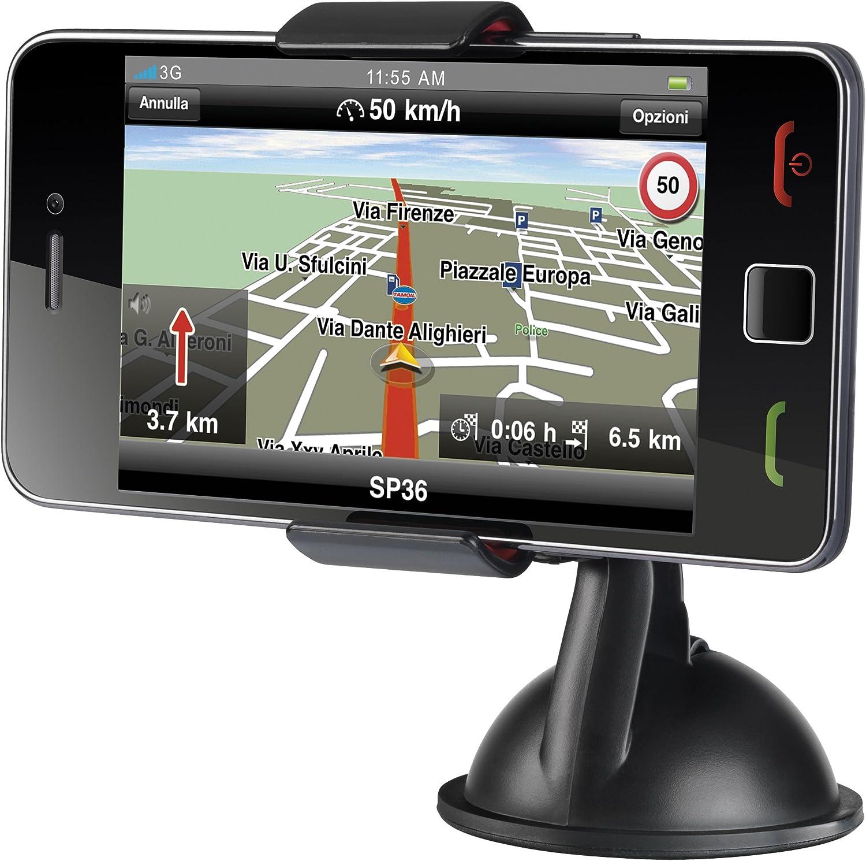Cellular Line Supergip - Soporte para smartphone, color negro ...