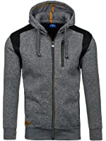 BOLF – Sweat - Capuche – Manches longues – Hoodie – Motif - Homme [1A1]