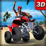 quad games for free - Beach Bike Offroad Race