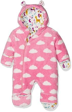 5dcfb0c4d Kite Baby Girls  Cloud Fleece All-in-One Coat  Amazon.co.uk  Clothing