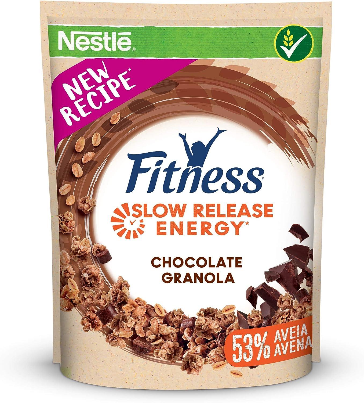Cereales Nestlé Fitness granola con chocolate - Copos de avena ...