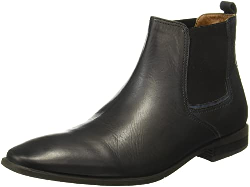 Hush Puppies Men's Fred Chelsea Leather Boots Men's Boots at amazon