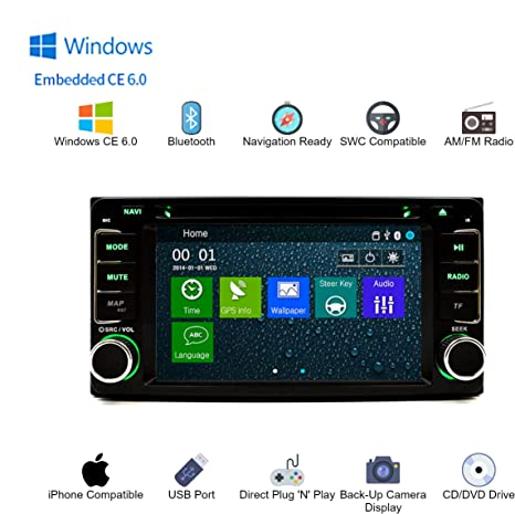 Amazon.com: OEM Replacement In Dash Bluetooth Touch Screen ...