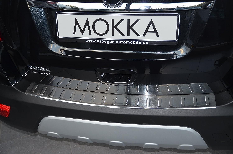 afcp Acero Inoxidable ladekant Protección Parachoques Para Opel Mokka: Amazon.es: Coche y moto