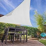 KHOMO GEAR Triangle Sun Shade Sail 22 x 22 x 22 Ft