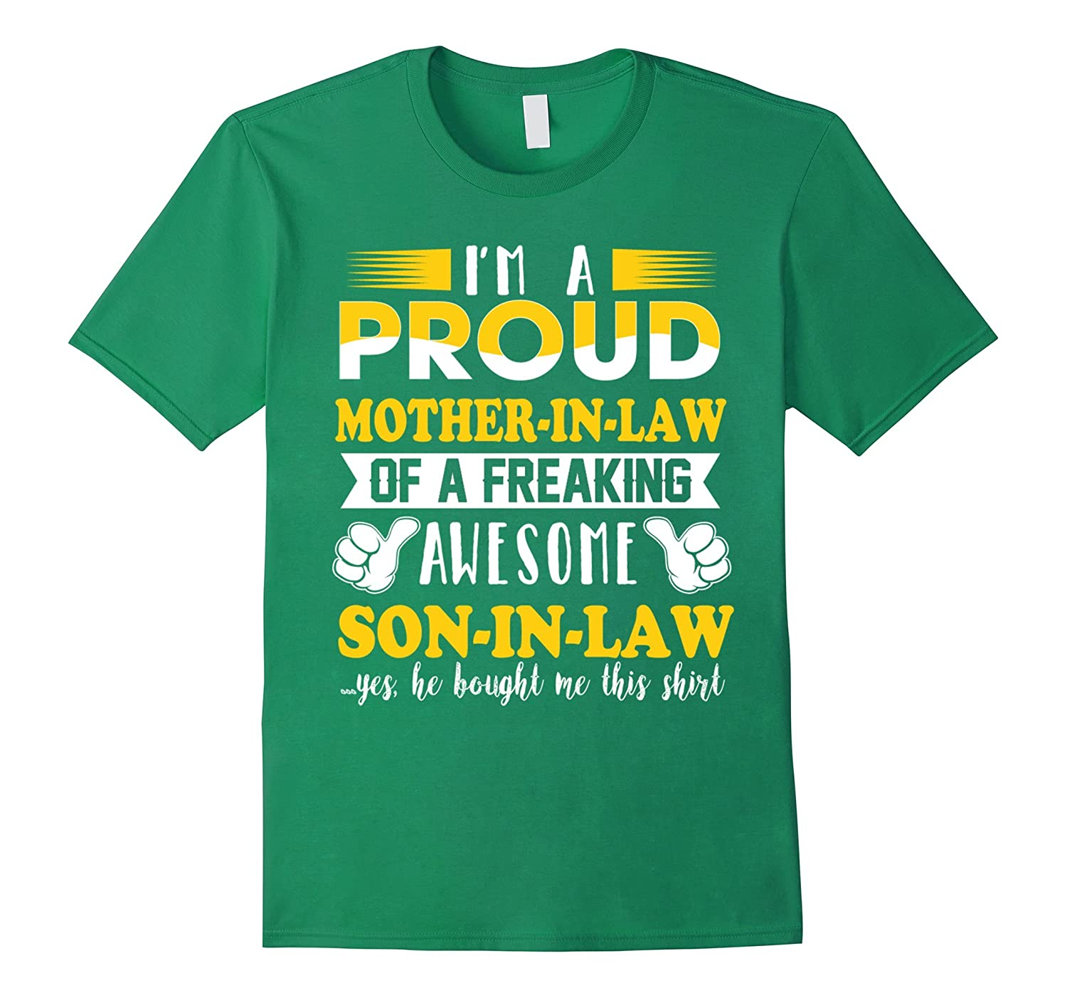 I am a proud mother in law T-Shirt-TH