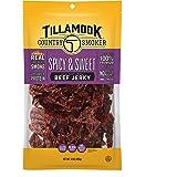 Tillamook Country Smoker Real Hardwood Smoked Beef Jerky, Spicy & Sweet, 10 Ounce