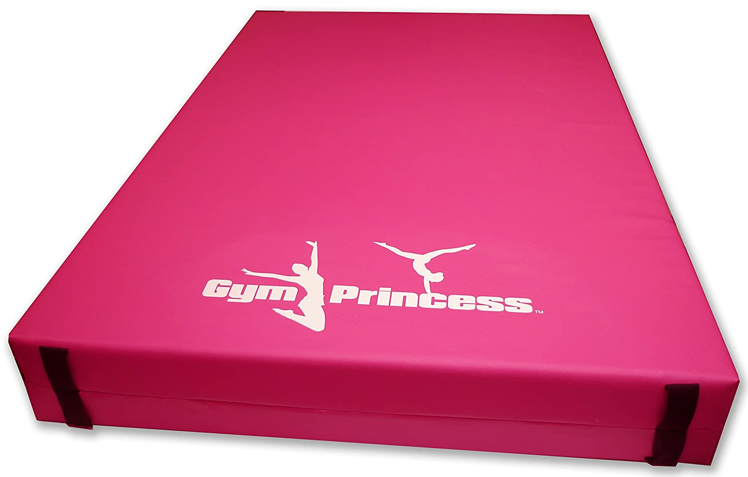 Gym Princess Implay Multi-Use Gymnastics, Exercise & Crash Mats - 610gsm PVC/High Density Foam - Choice of size Implay® IMP-GYMP-PNK