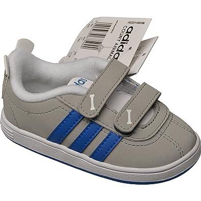 65f961a10c7800 Adidas Court Animal Inf - clonix blue lead