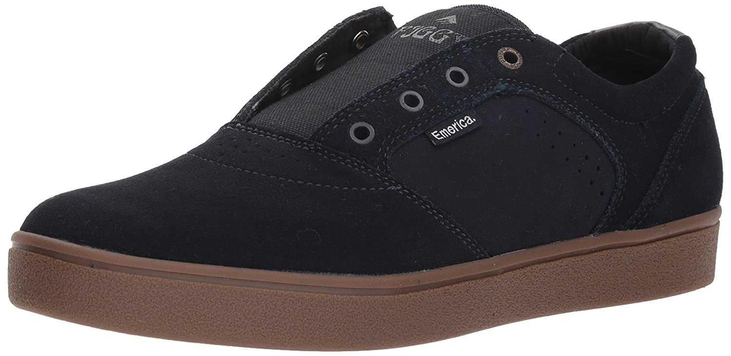 Emerica Men's Figgy Dose Skate Shoe 8 D(M) US|Navy/Gum