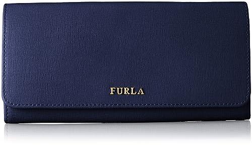 Furla - Billetera de Piel Mujer, Color Azul, Talla 19x9x2 cm ...