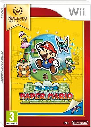 Super Paper Mario - Selects: Amazon.es: Videojuegos