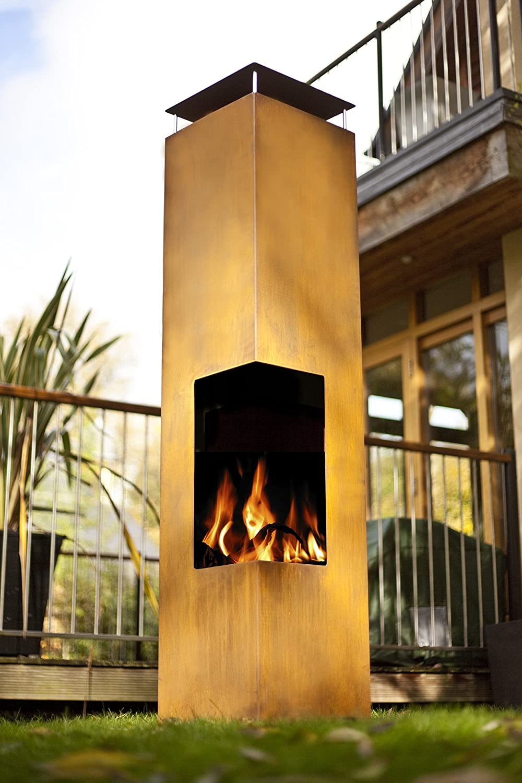 amazon com la hacienda 56075us oxidized corten steel