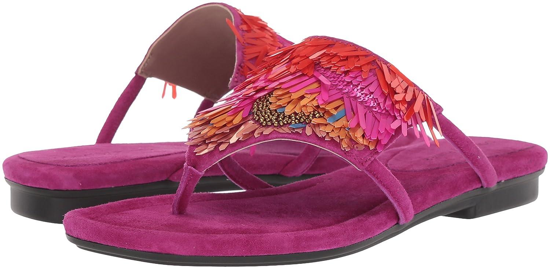 Donald J Sandal Pliner Women's Kya Slide Sandal J B0756K97WT 8.5 B(M) US|Magenta 70096c