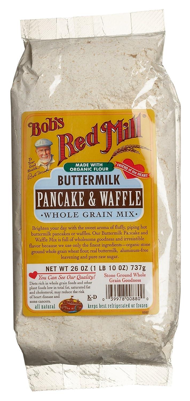 Amazoncom Bobs Red Mill Buttermilk Pancake Waffle Whole Grain