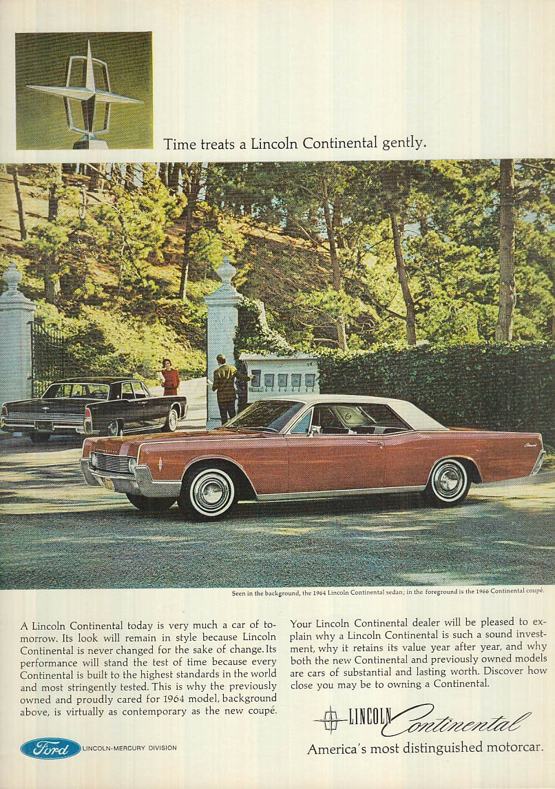 1964 Lincoln Continental Coupe