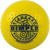 KOOKABURRA Dimple Standard Field Hockey Ball (Yellow, 12 Balls)
