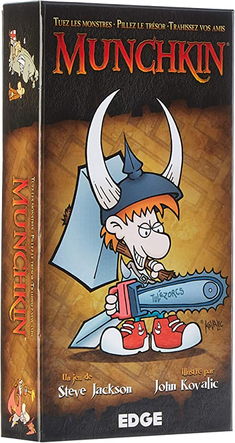 Asmodee - Juego de Cartas Munchkin [versión Francesa]: Amazon.es ...