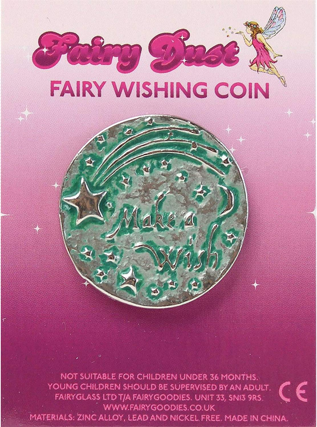 Tooth Fairy Wishing Coin Green A Gift From The Tooth Fairy