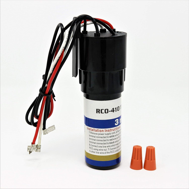 Raven RCO410 3 in 1 Compressor Hard Start Capacitor Kit for Refrigerators & Freezers 1/4-1/3 H.P. 115VAC