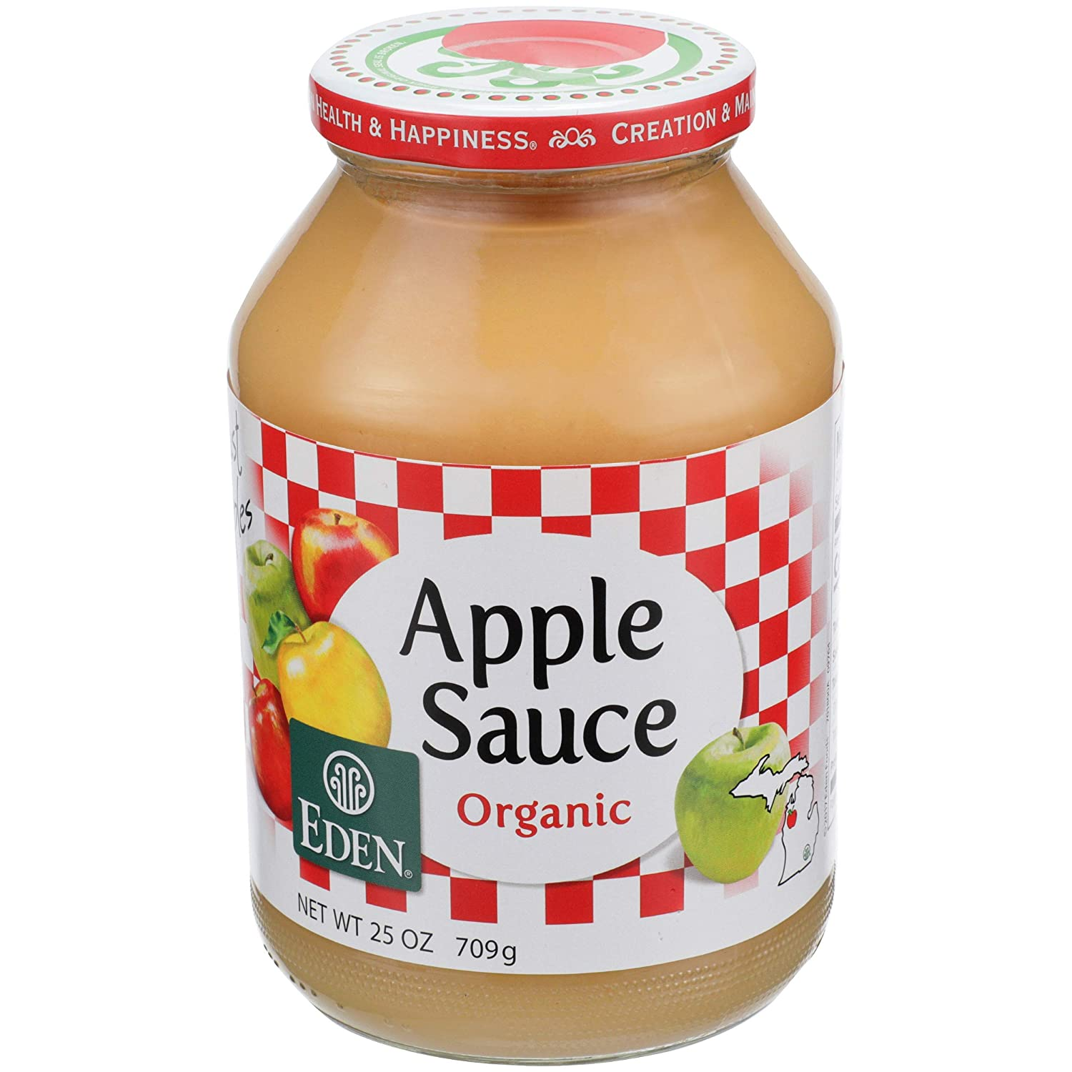 Organic Apple Sauce - 25 oz