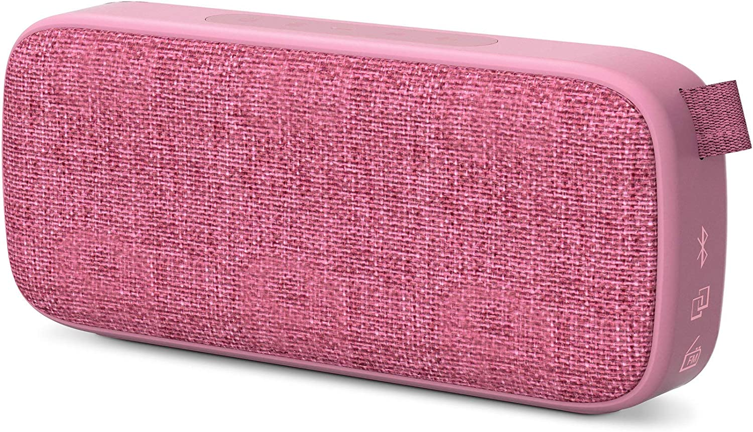 Energy Sistem Fabric Box 3+ Altavoz Bluetooth Trend Grape (TWS, Bluetooth v5.0, 6 W, USB&microSD MP3 Player, FM Radio)