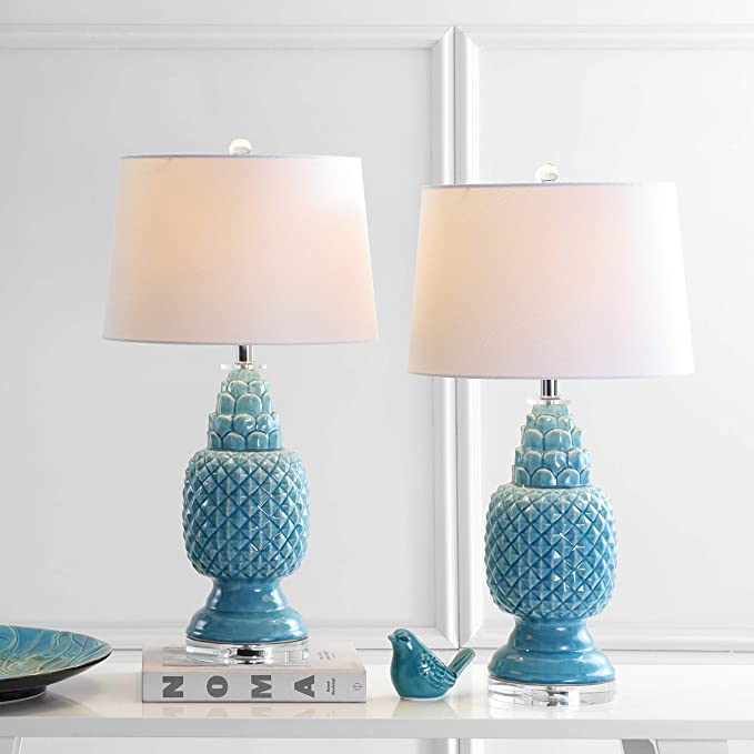 Amazon.com: Safavieh Lighting Collection Blakely Azul ...