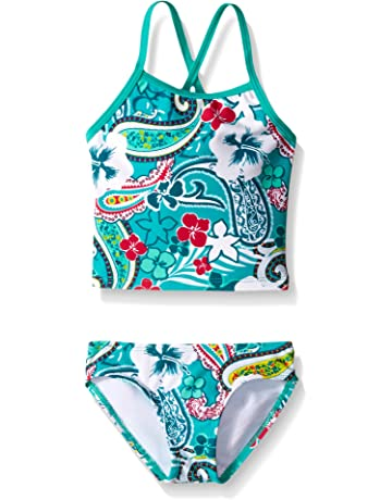 7ff7fbc9730 Kanu Surf Girls' Summer Dream Tankini Swimsuit