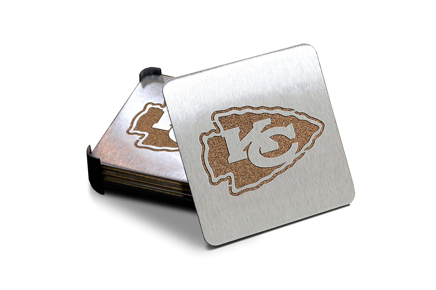 Sportula NFL Products Boasters Stainless Steel Coasters