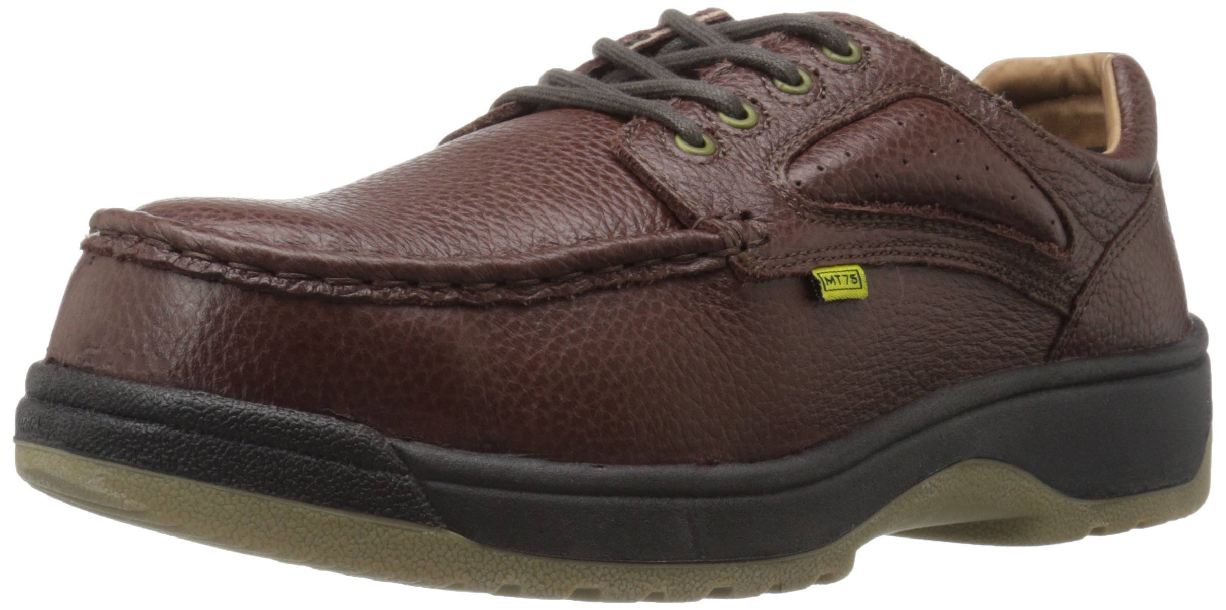 Florsheim Work Men's Compadre FE2440 Work Shoe, Brown, 8 3E US