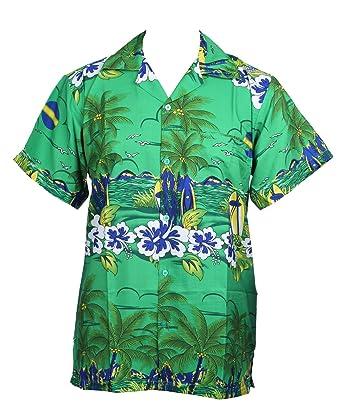 f36ec9a17 SAITARK Mens Hawaiian Shirt Stag Beach Hawaii Aloha Party Summer Holiday  Fancy New Sun: Amazon.co.uk: Clothing